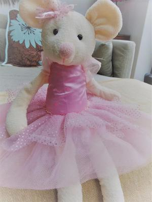 LUCY LOCKET BALLERINA MOUSE 60CM TALL/vtech phone IMMACULATE
