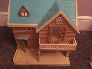 Lovely Sylvanian Families Dolls House