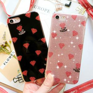 Luxury Bling Glitter Soft Shockproof Silicone Case Cover For