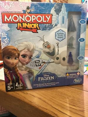 Monopoly Junior From the movie Frozen