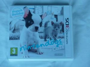 Nintendo 3DS French bulldog game