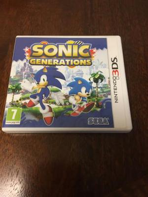 Nintendo 3ds Game- Sonic Generations