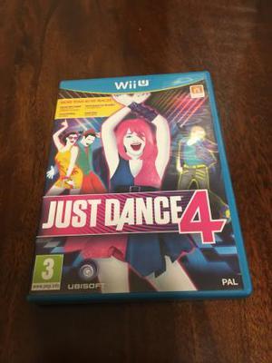 Nintendo Wii U Game- Just Dance 4