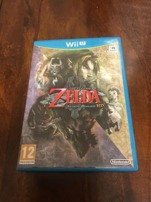 Nintendo Wii U Game- Legend of Zelda Twilight Princess