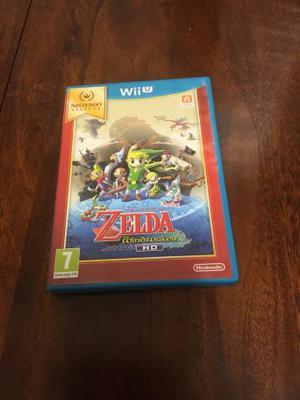 Nintendo Wii U Game- Legend of Zelda-Wind Waker