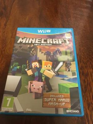 Nintendo Wii U Game- Minecraft Wii U edition.