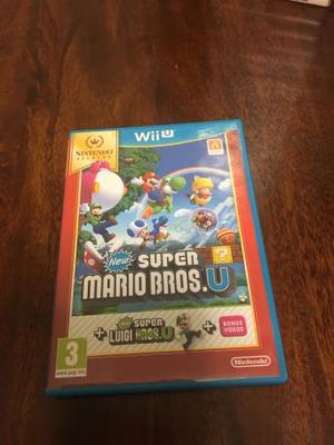 Nintendo Wii U Game- New Super Mario Brothers U