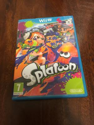 Nintendo Wii U Game- Splatoon