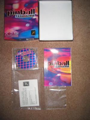 PC game 'Pinball Illusions'.