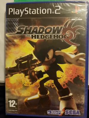 PS2 Shadow The Hedgehog Game