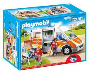 Playmobil  City Life Ambulance with Lights and Sound