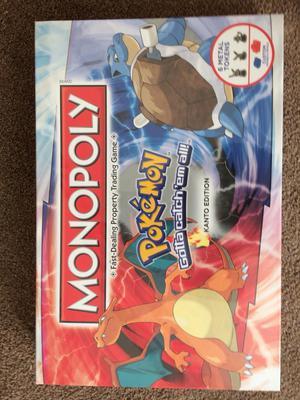 Pokemonon monopoly