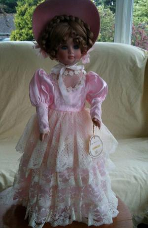 "Porcelain Alberon doll ""Lara"" approx 19"" high"