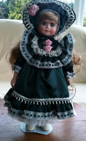 "Porcelain Alberon doll ""Teresa"" approx 12"" high"