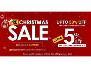 Pre-Christmas Sale - 10% to 50% OFF Everything! - Furniture