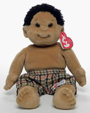 RASCAL TY BEANIE KIDS RETIRED COLLECTABLE BOY DOLL