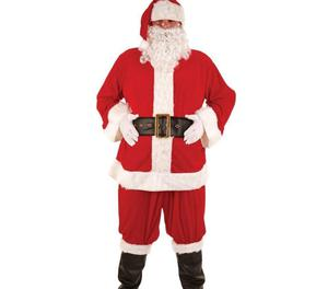 Santa suits from Fancy Dress Factory