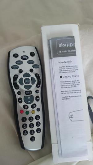 Sky HD TV Remote Control