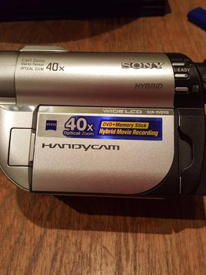 Sony Handycam disc camcorder