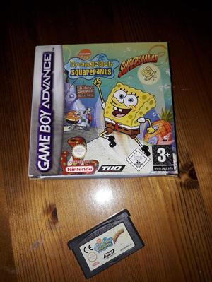 Spongebob Squarepants game for Game Boy Advanc