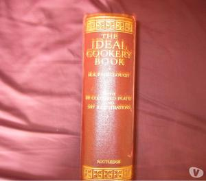 THE IDEAL COOKERY BOOK M.A FAIRCLOUGH VINTAGE 19th cent
