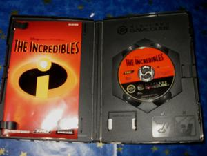 The incredibles - Gamecube game