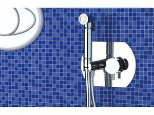 Toilet Bidet Combined With Easy Hot&Cold Control in a Block