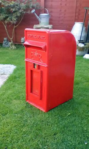 Vintage royal mail postbox
