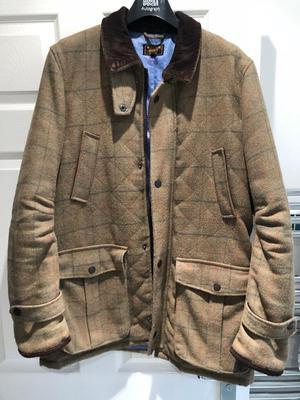 William Hunt shooting style jacket. Size Large.