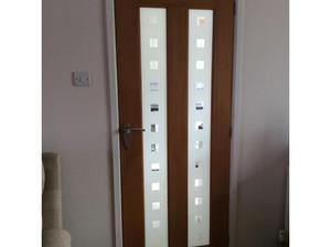 Wooden internal panel door in Exeter