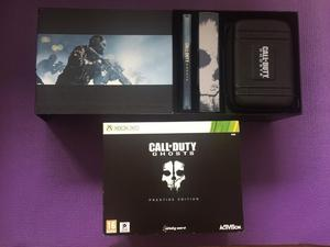 Xbox360 call of duty ghosts prestige edition infinity ward been open but never been used