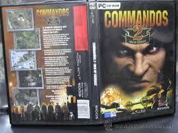 pc cd rom commandos