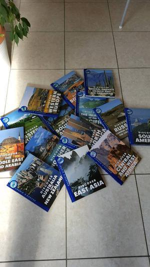 14 x WORLD BOOKS