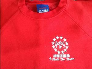 3 Red Abbotswood school jumpers in Southampton