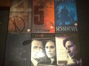 6 X The X files VHS box sets plus 3 X files films
