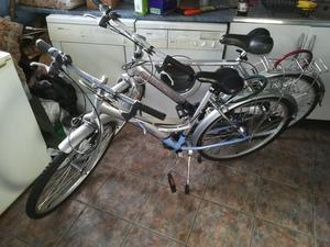 A gents & a ladies bicycles for sale
