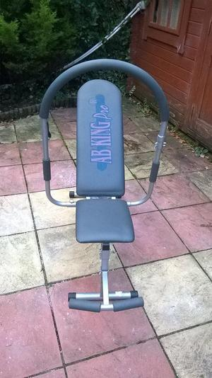 Ab King Pro Bench (Gym Equipment)