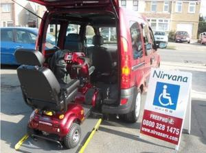 Adapted Car & Mobility Scooter Packages, we can supply a wav