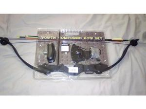 Armex Warrior Youth Compound Bow Set. Brand New In