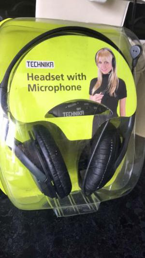 BNIB Computer headset with microphone