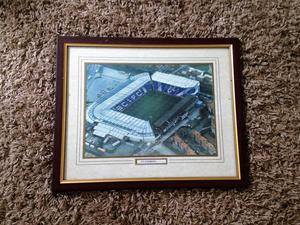 Birmingham City Football Club framed picture of St. Andrews