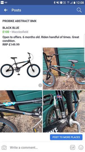 Bmx bike 80ono