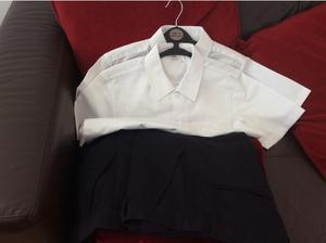 Boys school trousers &shirt in Alloa