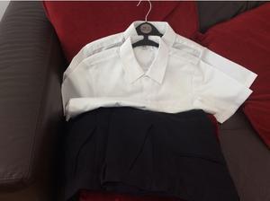 Boys school trousers &shirt in Alloa