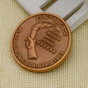 Brigade  Custom Coins