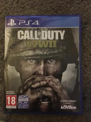 Call of Duty WWII PS4 Brand New