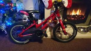 Carrera Star Kids Bike 14'' good clean condition