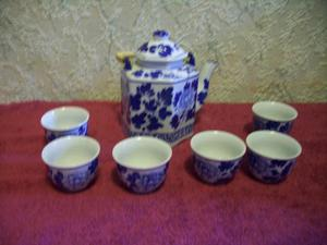 Ceramic Chinese / Japanese Tea Set