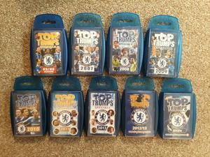 Chelsea top trumps from 05 season to 14