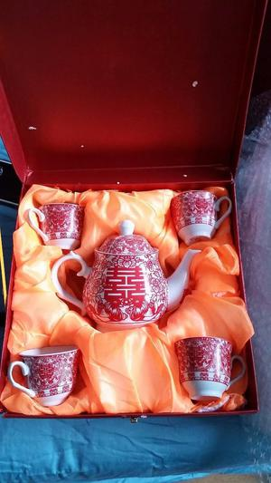 Chinese tea ceremony tea set